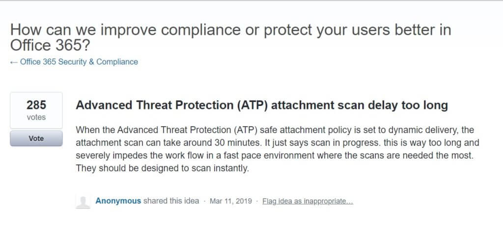 Email Protection Software Delay